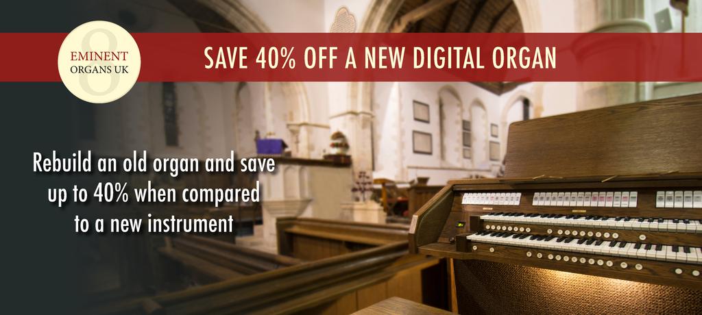 Eminent UK - Digital Organs & Hauptwerk Consoles - REBUILD